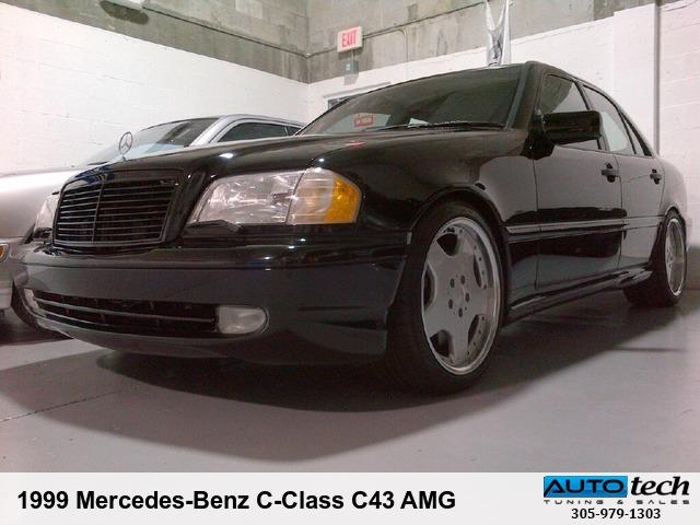 1999 mercedes-benz c-class c43 amg