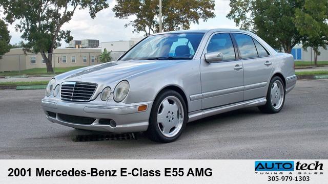 2001 mercedes-benz e-class e55 amg