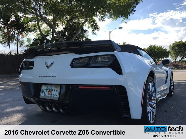 2016 Chevrolet Corvette Z06 Convertible