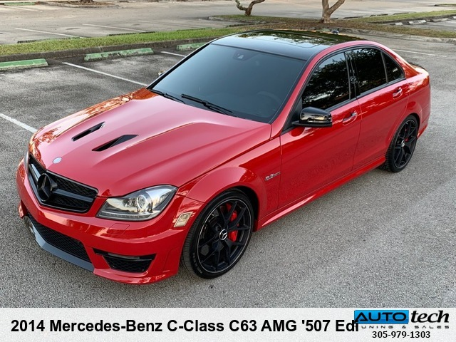 2014 Mercedes-Benz C-Class C63 AMG '507 Edition'
