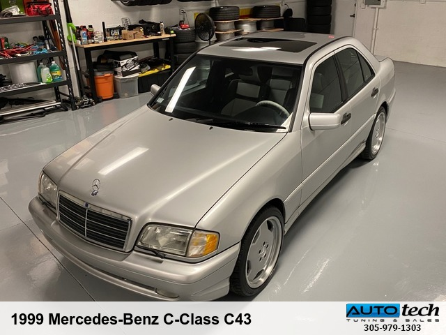 1999 Mercedes-Benz C-Class C43 AMG SILVER (PA)