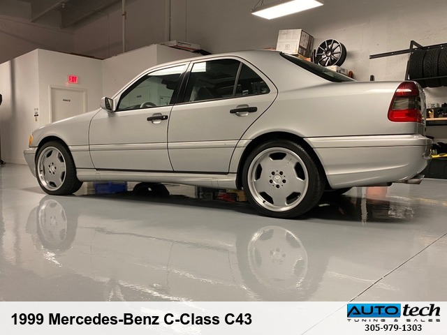 1999 Mercedes-Benz C-Class C43 AMG SILVER