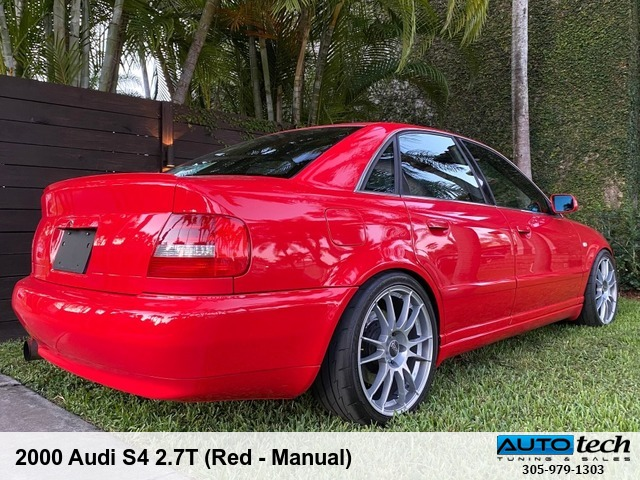 2000 Audi S4 2.7T (Red - Man)
